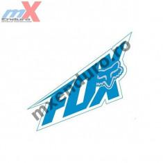 MXE Abtibild Fox culoare albastra 15 cm Cod Produs: 14484029000AU - Stikere Moto