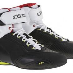 MXE Ghete moto Alpinestars Schuh Faster 2, negru/galben/rosu fluo Cod Produs: 2510216153610AU