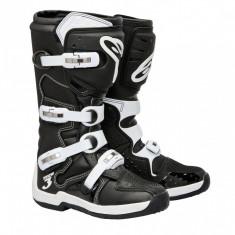 MXE Cizme motocross Alpinestars Tech3, culoare negru/alb Cod Produs: 201307