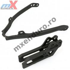 MXE Kit patina+ghidaj bascula lant Yamaha WRF/YZ 250/450 '07-'8 Cod Produs: YA04805089 - Kit lant transmisie Moto