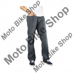 MBS FOX JEAN THROTTLE, dirty rinse, W36 L34, 15/187, Cod Produs: 0207438536AU - Blugi barbati