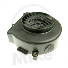 Capac racire motor GY6-50 (QMB139) negru PP Cod Produs: 7381403MA - Capac racire cilindru Moto
