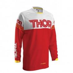 MXE Tricou motocross copii Thor Phase Hyperion, rosu/alb Cod Produs: 29121288PE - Imbracaminte moto
