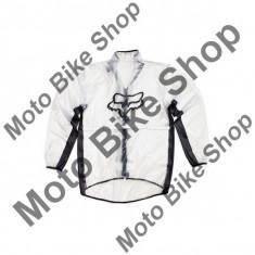 MBS Geaca de ploaie Fox, trasnparent, M, Cod Produs: 10033012004AU - Imbracaminte moto