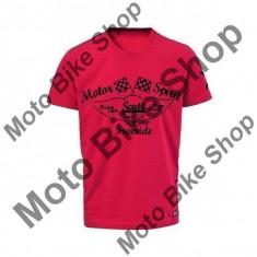 MBS SCOTT T-SHIRT DELSON, true red, M, Cod Produs: 2251923592MAU, Maneca scurta