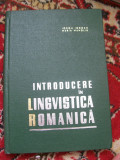 INTRODUCERE IN LINGVISTICA ROMANICA IORGU IORDAN MARIA MANOLIU