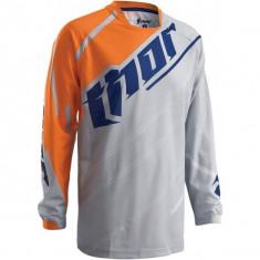 MXE Tricou motocross copii Thor Phase Vented Doppler, gri/portocaliu Cod Produs: 29121330PE - Imbracaminte moto
