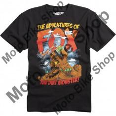 MBS FOX KINDER T-SHIRT GRAPPLE, black, KM, 15/037, Cod Produs: 09069001MAU