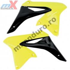 MXE Laterale radiator galben-negre, Suzuki RMZ 250/10- Cod Produs: UF4928102AU - Carene moto