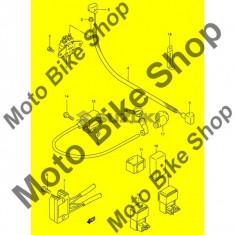 MBS Protectie pipa Suzuki AN125S(E2) S 1995 #16, Cod Produs: 3354147D00SU - Protectie ghidon Moto