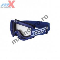 MXE Ochelari cross copii Scott 89 Si culoare albastru Cod Produs: SC89STB - Ochelari moto
