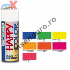 MXE Vopsea spray fluorescenta Happy Color magenta 100 ml Cod Produs: 88177002 Scott