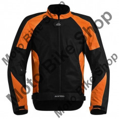 MBS Geaca textila Acerbis Ramsey My Vented, negru/portocaliu, L, Cod Produs: 17105010LAU - Imbracaminte moto, Geci