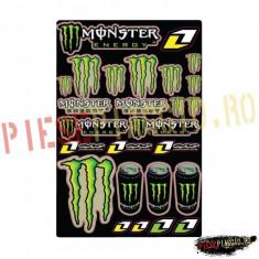 Set abtibilde Monster Energy PP Cod Produs: SHM3AU - Stikere Moto