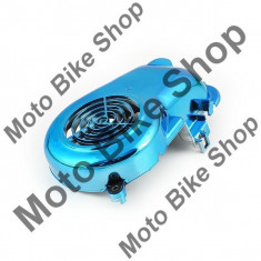 Carcasa ventilator Aprilia/Minarelli/Yamaha Orizontal-albastru PP Cod Produs: MBS100105 - Capac racire cilindru Moto