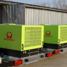Grup electrogen 30 kVA carcasat kit transport rutier omologat
