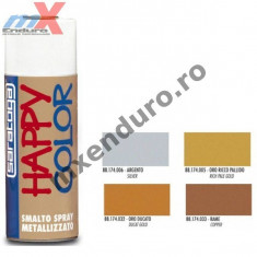 MXE Vopsea spray metalizata Happy Color auriu inchis 400ml Cod Produs: 88174032 Scott