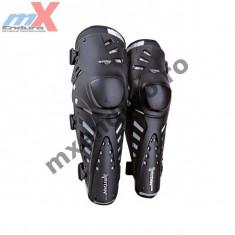 MXE Protectii genunchi Fox Titan Pro, negru argintiu Cod Produs: 06192001OSAU - Protectii moto