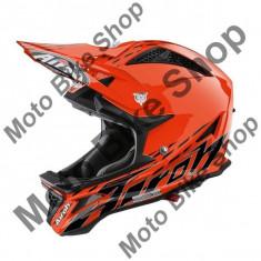 MBS Casca Downhill/MTB AirohFighters Trace, portocaliu, M=57-58, Cod Produs: FGTR32MAU, Casti bicicleta