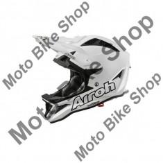 MBS Casca Downhill/MTB AirohFighters Color White, alb, L=59-60, Cod Produs: FG14LAU, Casti bicicleta