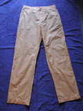 Pantaloni barbati HUGO BOSS, mas. 46, Orange, Lungi, Hugo Boss