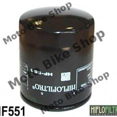 MBS Filtru ulei, Cod OEM Moto Guzzi 30153000, Cod Produs: HF551 - Filtru ulei Moto