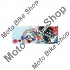 MBS SCHRAUBENSET MOTORGEHAUSE KXF450/06-08, blau, 15/316, Cod Produs: DF891222AU - Piulita ghidon Moto