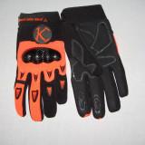 MXE Manusi cu protectii motocross/atv , culoare negru/portocaliu Cod Produs: MX5051