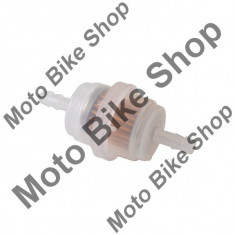 Filtru benzina 6mm cilindric-transparent, tip 2 PP Cod Produs: MBS050308 - Filtru benzina Moto