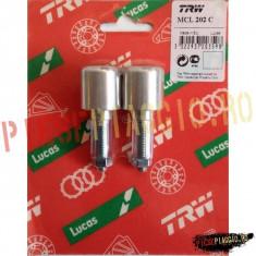 Capeti ghidon Al., argintii MCL202C PP Cod Produs: 7651839MA - Capat ghidon Moto