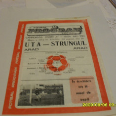 Program        UTA   -   Strungul Arad