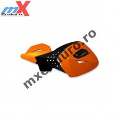 MXE Protectii maini Ufo Escalade portocaliu/negru Cod Produs: UF1646127AU - Protectii moto
