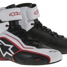 MXE Ghete moto Alpinestars Schuh Faster 2, negru/alb/rosu Cod Produs: 251021612310AU