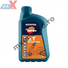 MXE Ulei Repsol Scooter 2T 1L Cod Produs: 002847 - Ulei motor Moto