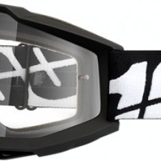 MXE Ochelari cross/enduro 100% White Crystal lentila clara Cod Produs: 26011861PE - Ochelari moto