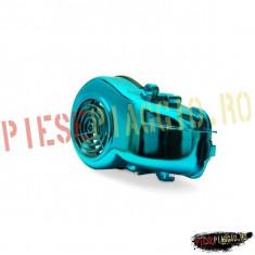 Capac racire motor Minarelli orizontal albastru PP Cod Produs: T093511 - Capac racire cilindru Moto