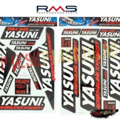 Set abtibilde Yasuni PP Cod Produs: 100759800RM - Stikere Moto