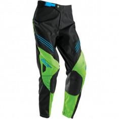 MXE Pantaloni motocross copii Thor Phase Hyperion, negru/verde Cod Produs: 29031389PE - Imbracaminte moto