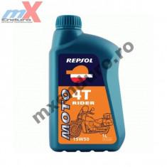 MXE Ulei Repsol Rider 4T 15W50 1L Cod Produs: 003042 - Ulei motor Moto