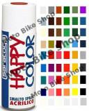 MBS Vopsea spray acrilica Happy Color alb lucios 400 ml, Cod Produs: 88150055