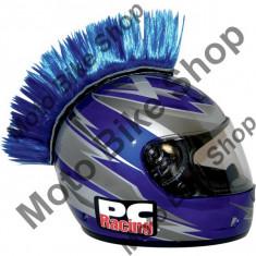 MBS Creasta casca moto mohawk, albastra, Cod Produs: 01360017PE