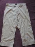 Pantaloni 3/4 dama PEPE JEANS, mas. 38, Trei-sferturi, Gri