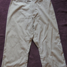 Pantaloni 3/4 dama PEPE JEANS, mas. 38 - Pantaloni dama Pepe Jeans, Culoare: Gri, Trei-sferturi