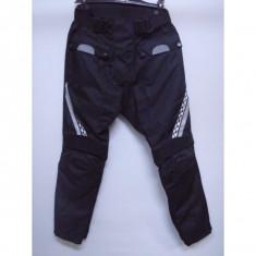 MXE Pantaloni moto/atv textil cu protectii genunchi/sold, culoare negru/argintiu Cod Produs: MX5120 - Imbracaminte moto