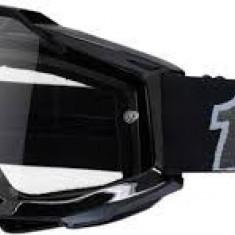 MXE Ochelari cross/enduro 100% Black lentila clara Cod Produs: 26011449PE - Ochelari moto