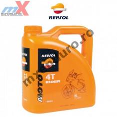 MXE Ulei Repsol Rider 4T 15W50 4L Cod Produs: 003059 - Ulei motor Moto