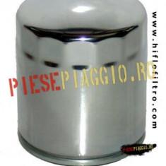 Filtru Ulei Harley, cromat, Cod OEM 63793-01K PP Cod Produs: HF174C - Filtru ulei Moto