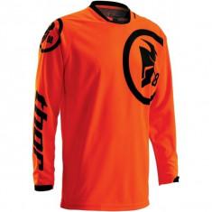 MXE Tricou motocross copii Thor Phase Gasket, portocaliu fluo/negru Cod Produs: 29121306PE - Imbracaminte moto