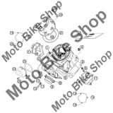 MBS Flansa evacuare KTM 380 SX 2002 #9, Cod Produs: 54605073000KT