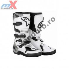 MXE Cizme cross copii Alpinestars, culoare albe Cod Produs: 20150629 - Cizme Moto